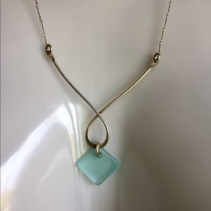 Jewelry - Floating Seaglass Necklace